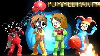 【4人実況】史上最も面白い海外のパーティーゲーム『 Pummel Party 』