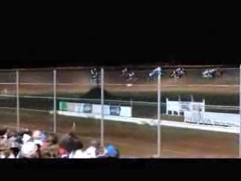 Outlaw Sprints Feature Race at Deep South Speedway 4-6-2013