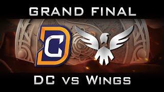 DC vs Wings - All Games Grand Final The International 2016 TI6 Highlights Dota 2