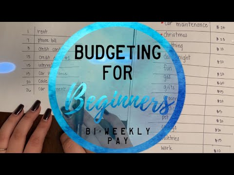 Budgeting for Beginners; Cash Envelope System | BI-WEEKLY PAY | BudgetWithBri
