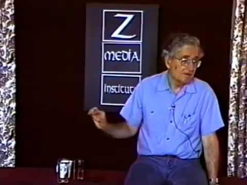 Noam Chomsky 1997  On Propaganda  RARE Video!