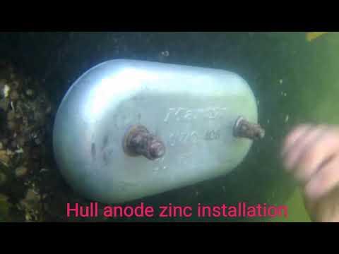 Anode Zinc Installation