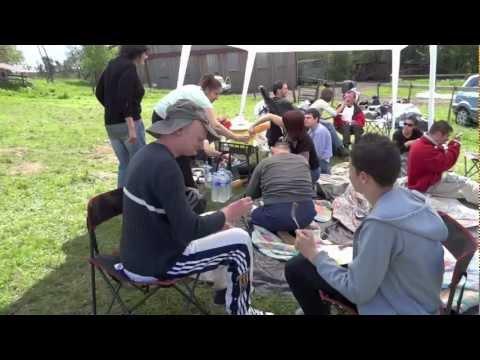 Camping à la ferme  3 et 4 mai 2012