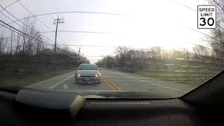 Rear Ended by Tailgater - Crash Caught On Dashcam