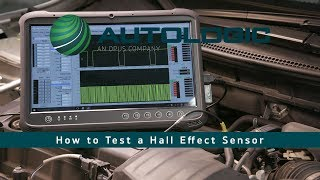 Best Way to Test a Hall Effect Sensor   using the ATS Elite 4 Channel lab scope & and a DVOM