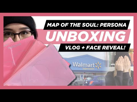 ✨BTS Map Of The Soul: Persona FULL SET UNBOXING + vlog & face reveal! ✨ Mp3