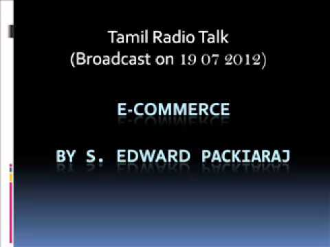 20 e-Commerce Tamil radio program broadcast on 19 07 2012