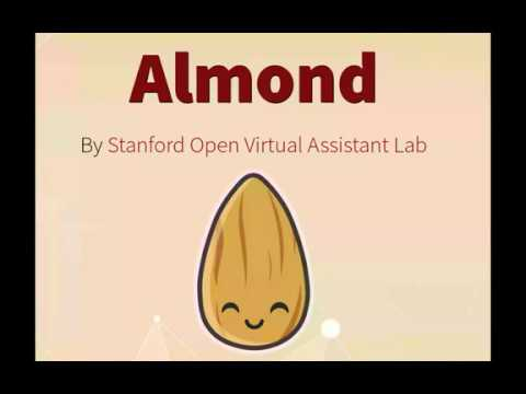 Almond in action