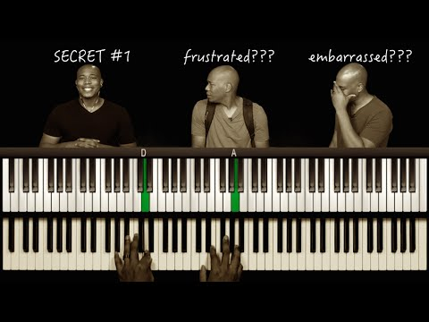 Wheres the TRANSPOSE Button? Piano Secret #1