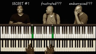 Where's the TRANSPOSE Button? Piano Secret #1
