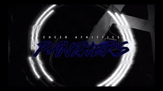 Cheer Athletics Panthers 2019-20