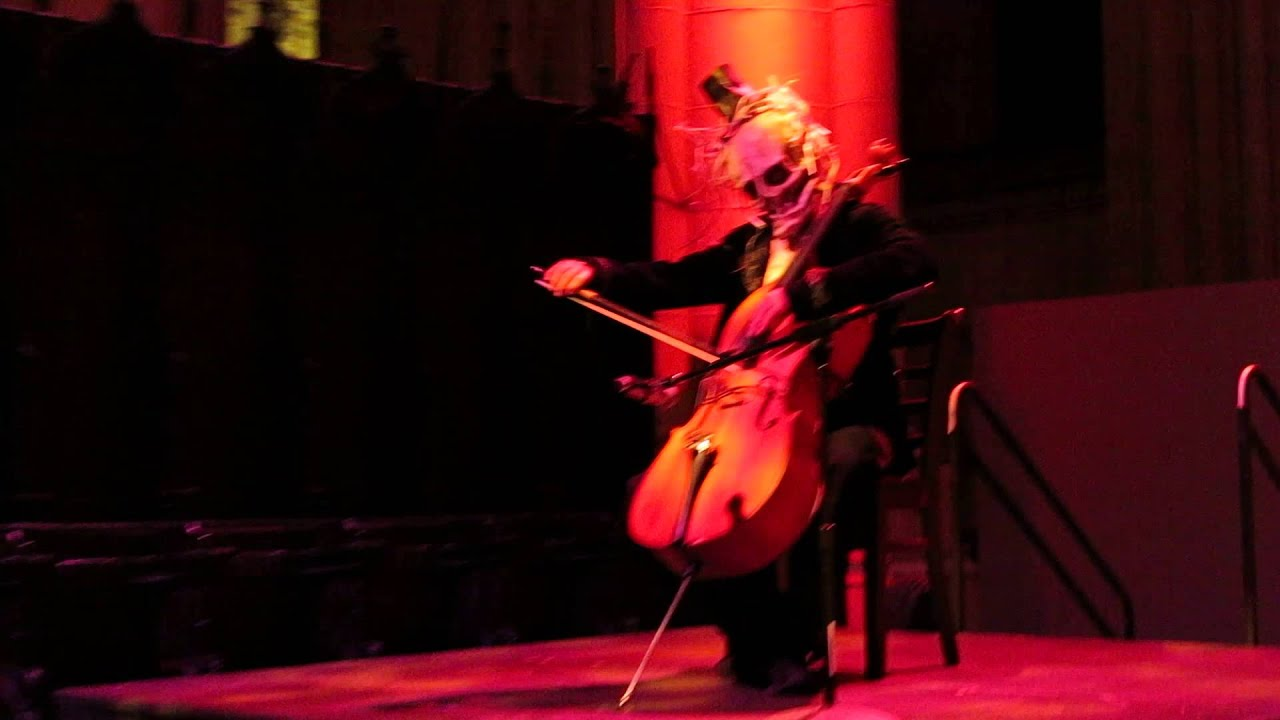St John The Divine Halloween 2020 Ghoul playing Cello   Halloween at Cathedral of St. John the