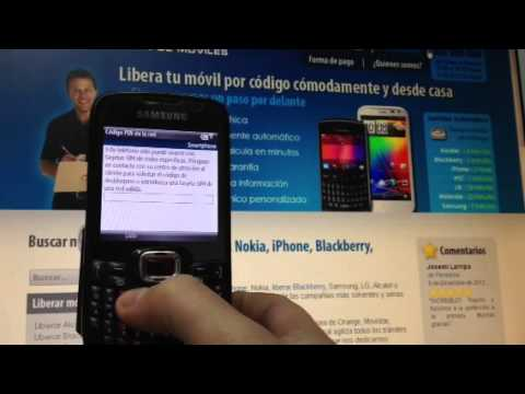 Liberar Samsung Omnia Pro B7330 de Vodafone, Orange o Movistar