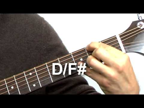 Beginning Guitar Quick Tip #5 - Slash Chords