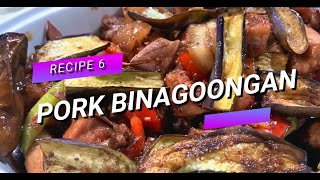 Pork Binagoongan┃Recipe 6┃Quick And Easy Recipe With Saladmaster Cookware
