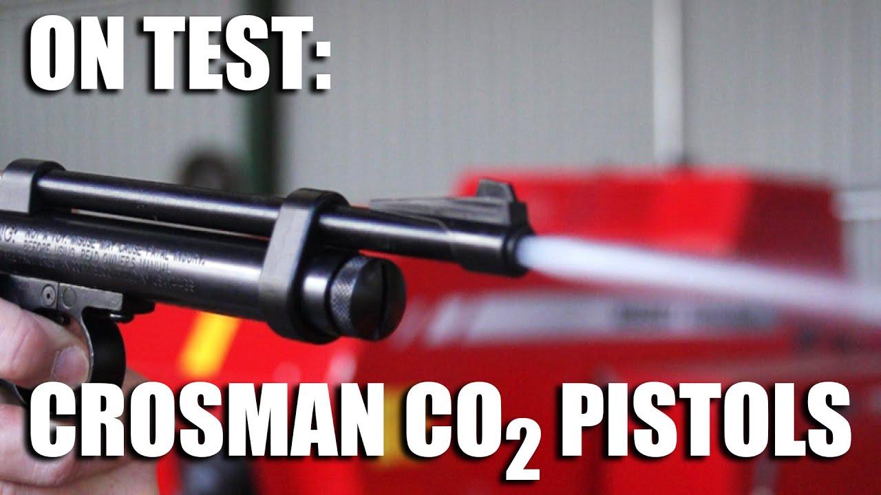 On Test: Crosman CO2 Air Pistols