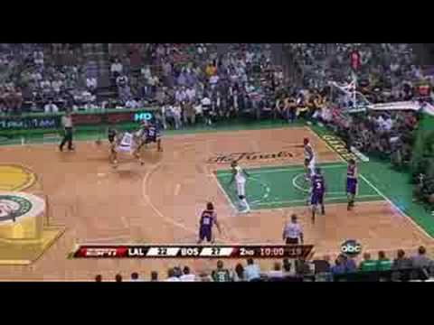 Horrible Officiating 2008 NBA Finals game 2