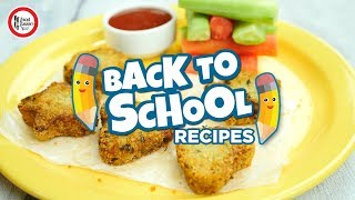 Back to School Recipes by Food Fusion Kids