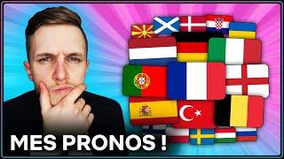 🏆 MES PRONOS POUR L'EURO 2021 !