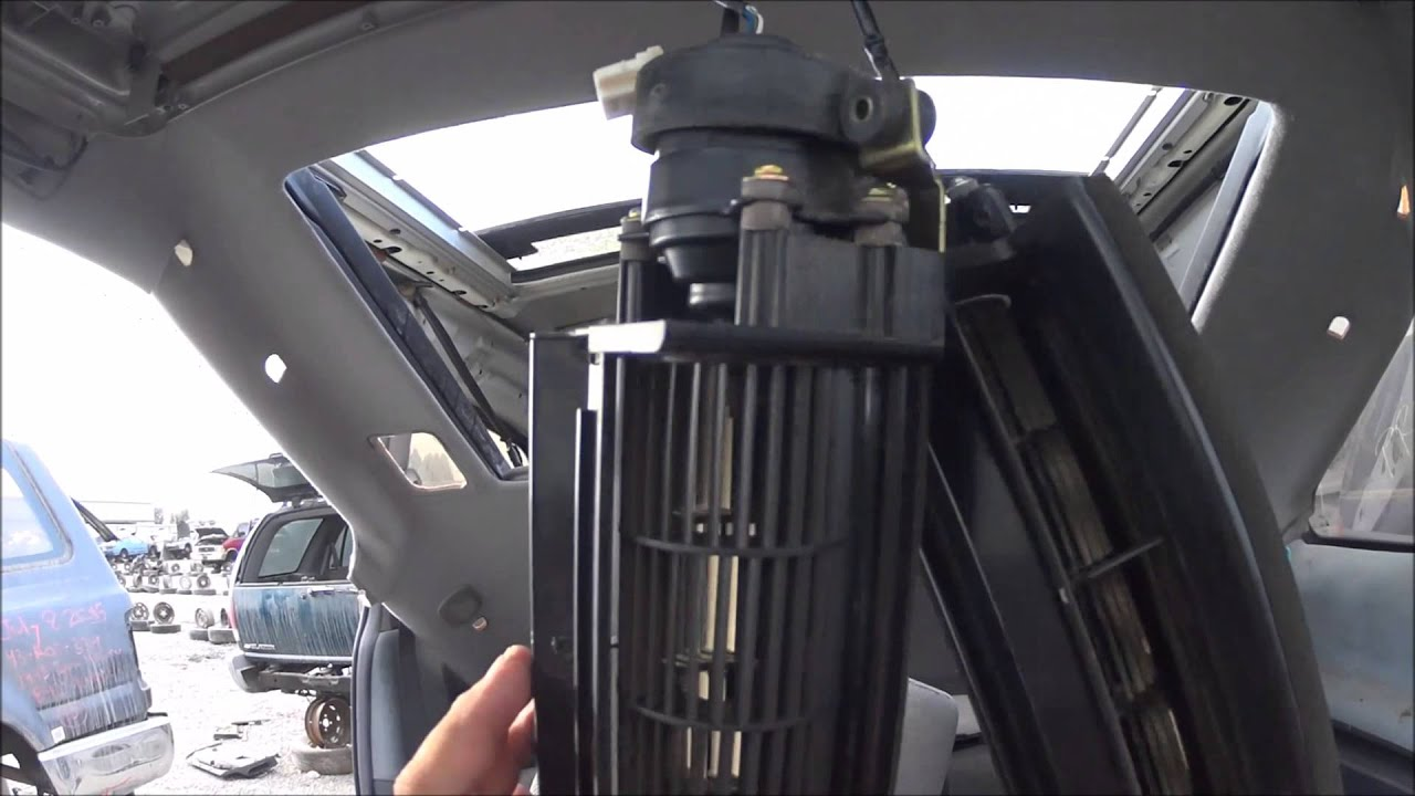 toyota previa ting to the rear moon roof motor youtube