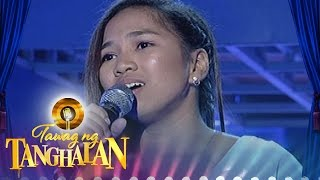 Tawag ng Tanghalan: Mary Jane Durante | I Love You, Goodbye