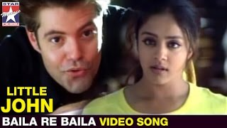 Little John Tamil Movie | Baila Re Baila  Song | Jyothika | Bentley Mitchum | Star Music India