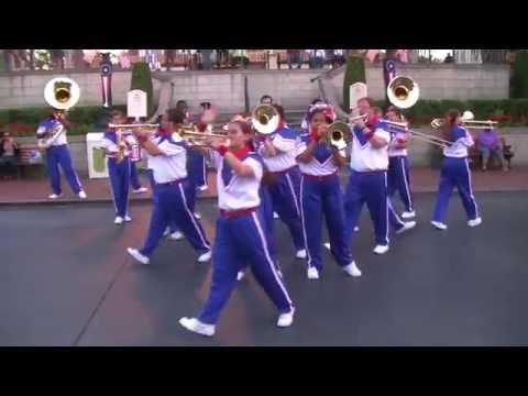 Michael Jackson Medley - 2014 Disneyland All-American College Band Last Day/Last Set