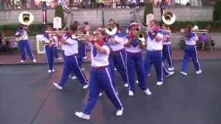 Michael Jackson Medley - 2014 Disneyland All-American College Band Last Day/Last Set