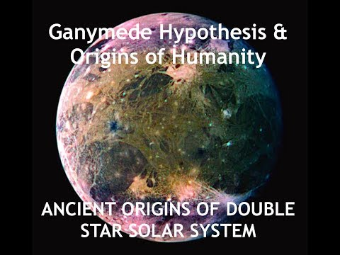 Ganymede Hypothesis - Humanity Originated on a Moon from Jupiter - Theodore Holden