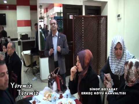 Yöremiz Töremiz -Boyabat Erkeç köy.der.Kahvaltı 25.01.2015 Yayını 1.Bölüm.avi