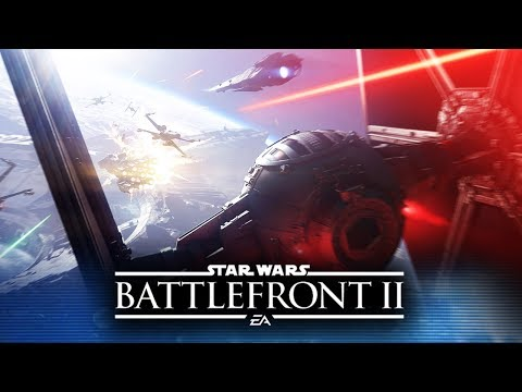 Star Wars Battlefront 2 - New Space Battle Teases! Single Player and Starfighter Assault!
