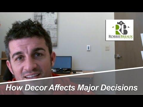 Lafayette, LA Real Estate: How Decor Affects Major Decisions