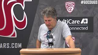 MIke Leach Press Conference 9/4