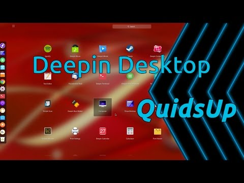 Desktop December - Deepin Desktop Environment