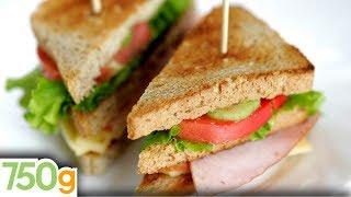 Recette du Royal Club Sandwich - 750g