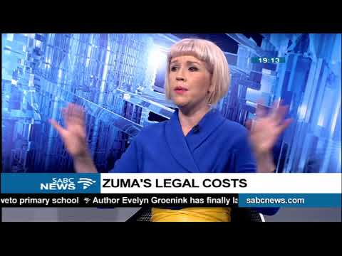 Zuma's legal costs - Karyn Maughan