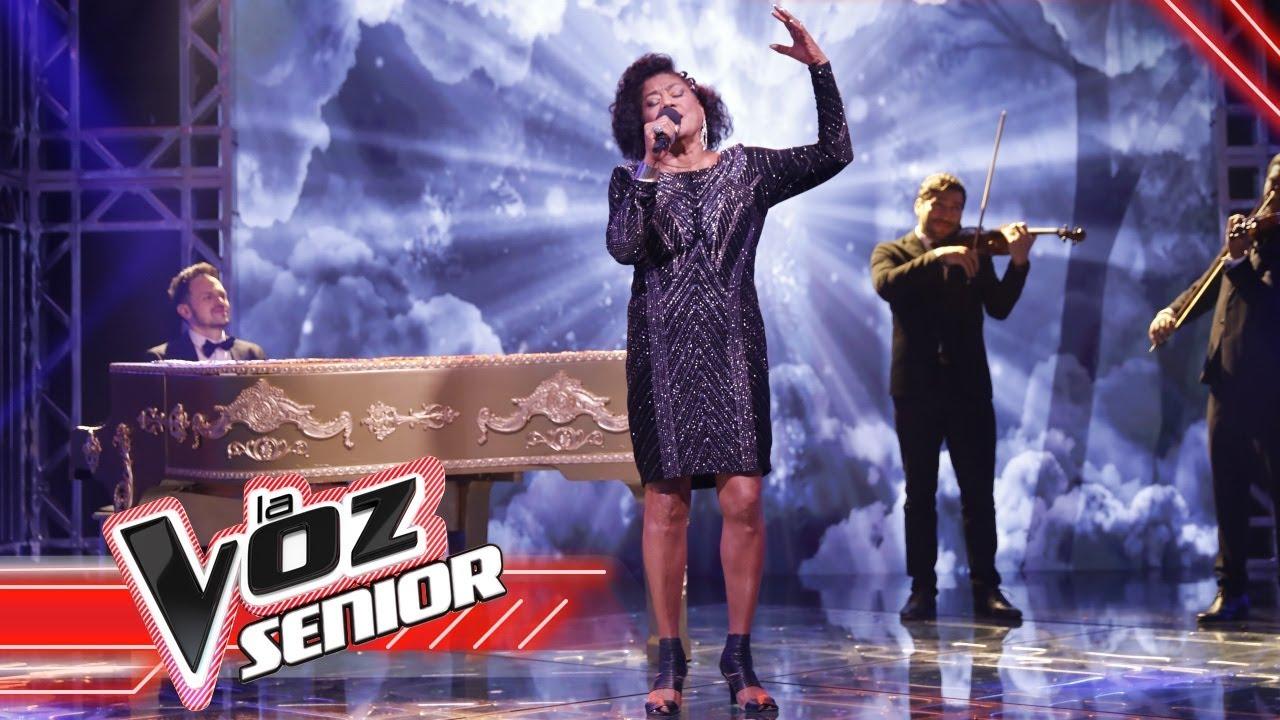 Haydee canta en la Final  LaVozSeniorColombia 2021