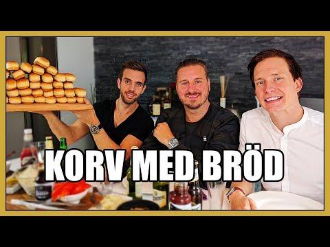 Korv med bröd hos Mästerkocken Gillis