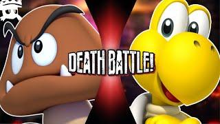 Goomba vs Koopa | DEATH BATTLE! sub español