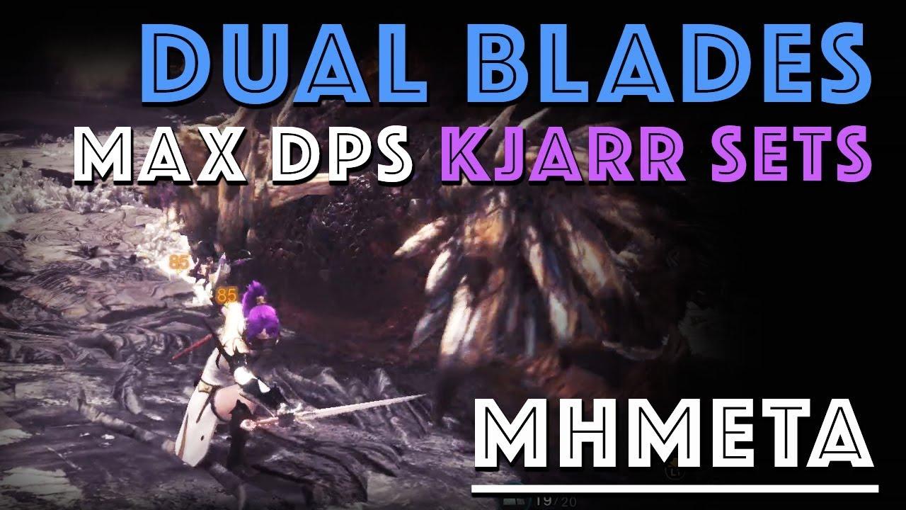 Mathematically best Kjarr Dual Blades Builds (MHW) – Building