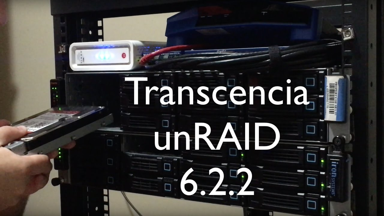 Transcencia - The Completed unRAID Server