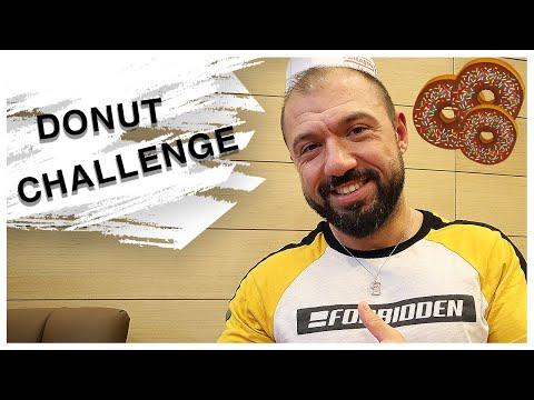 Donut Yeme Challenge (ŞEKER KOMASI GARANTİLİ)