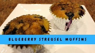 How to Make Blueberry Streusel Muffins