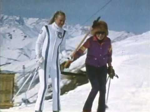 Billy Kidd and Suzy Chaffee ski in Iran, 1978