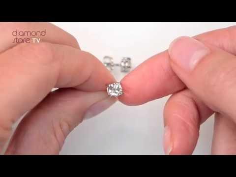 FG23 - 1ct Classic Diamond Stud Earrings