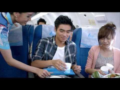 LOVE FLIGHT on Bangkok Airways