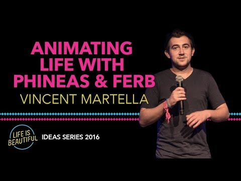 Phineas And Ferb Star Vincent Martella | Ideas Series 2016