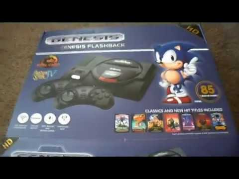 Sega Genesis Flashback HD Console with 85 Games by AtGames Review
