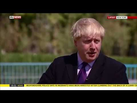 boris johnson - britain will trigger article 50 lisbon treaty next year