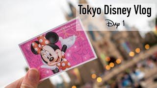 Tokyo Disney Trip - Day 1 Part 1: Disneyland!